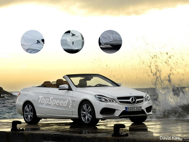 TopSpeed Rendering: 2014 Mercedes E-Class Cabrio