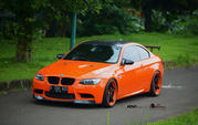 BMW M3 Halloween Orange by Antelope Ban