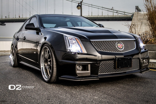 2012 cadillac cts v with d2forged wheels car review top speed. Black Bedroom Furniture Sets. Home Design Ideas