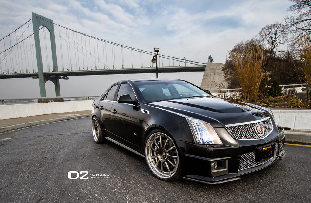 2012 cadillac cts v with d2forged wheels picture 486975 car review top speed. Black Bedroom Furniture Sets. Home Design Ideas