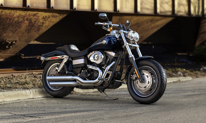 2013 Harley-Davidson Dyna Fat Bob - International Version Exterior - image 487378