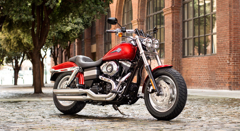 2013 Harley-Davidson Dyna Fat Bob - International Version High Resolution Exterior - image 487381