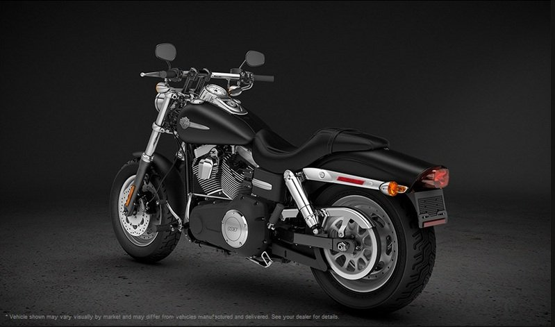 2013 Harley-Davidson Dyna Fat Bob - International Version Exterior - image 487384