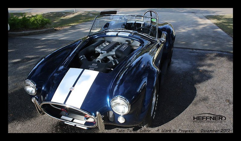 2013 Shelby Cobra Twin Turbo Project by Heffner Performance