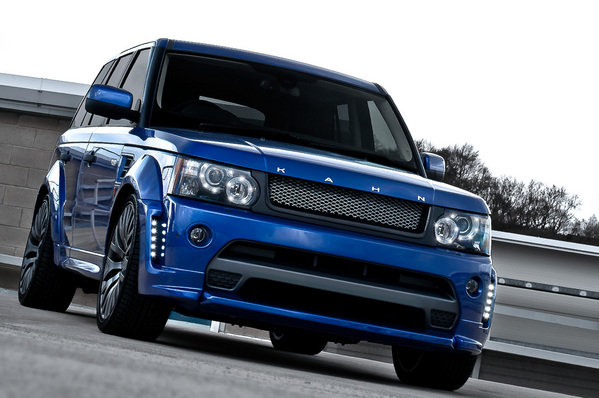 range rover rs300 cosworth bali blue by kahn design picture