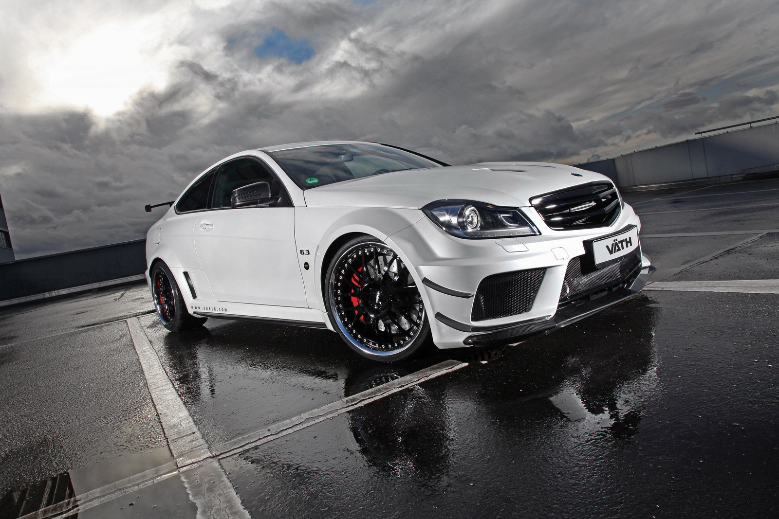 X Out Reviews >> 2013 Mercedes C63 Coupe Supercharged Black Series By Vath ...