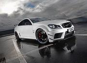 Mercedes C63 Coupe Supercharged Black Series by Vath