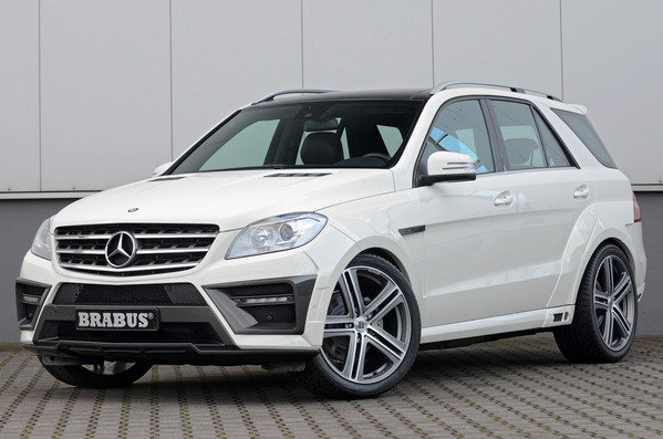 mercedes ml63 amg widestar by brabus picture