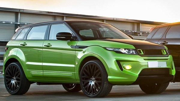 range rover evoque rs250 green pearl by kahn design picture