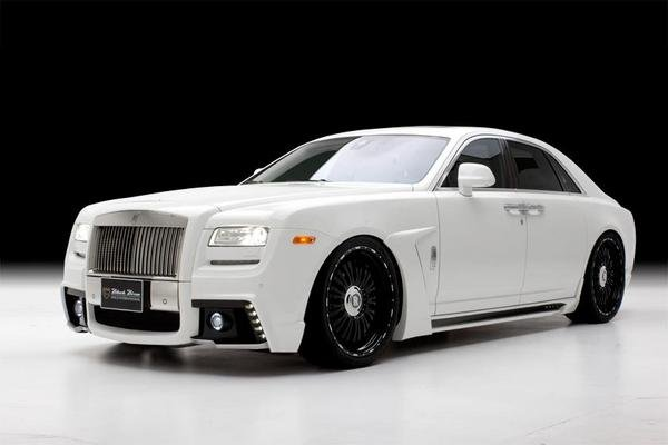 2013 rolls royce ghost sports line black bison by wald international review