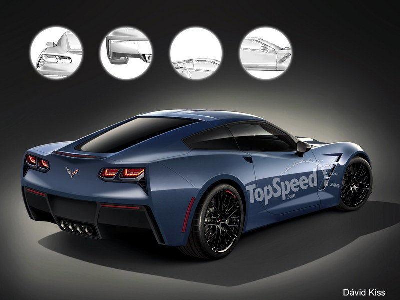 TopSpeed Rendering: Showing Off the 2014 Corvette's Backside