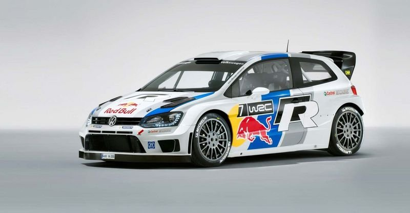 2013 Volkswagen Polo R WRC Rally Car