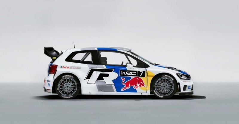 2013 Volkswagen Polo R WRC Rally Car High Resolution Exterior - image 485701