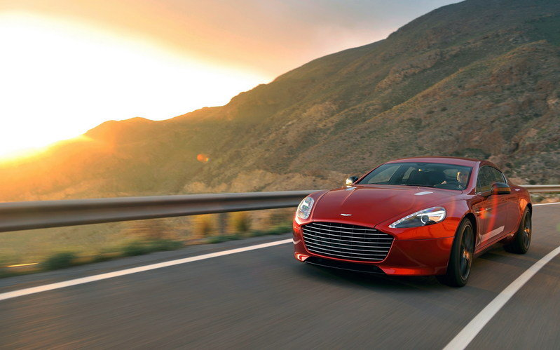 2014 - 2015 Aston Martin Rapide S High Resolution Exterior Wallpaper quality - image 490332