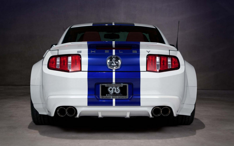 2013 Ford Mustang Shelby GT500 Wide Body by Galpin Auto Sports