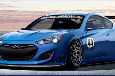 2013 Hyundai Genesis Coupe GT Race Car by Austech Motorsport