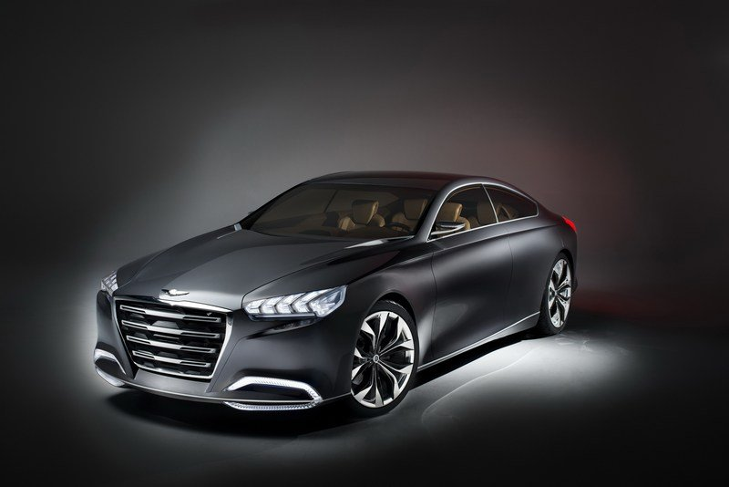 2013 Hyundai HCD-14 Genesis Concept High Resolution Exterior Wallpaper quality - image 489401