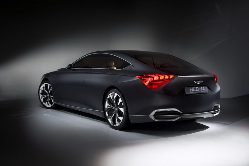 2013 Hyundai HCD-14 Genesis Concept High Resolution Exterior - image 489398