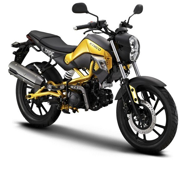 Motorcycle Review Top Speed: 2013 - 2017 KYMCO K-PIPE 125 - Picture 488898