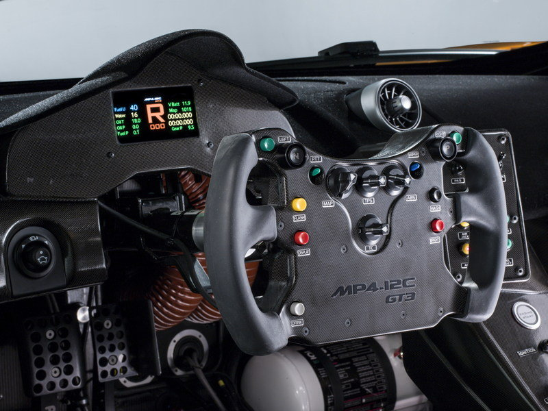 2013 McLaren MP4-12C GT3 Interior - image 489750