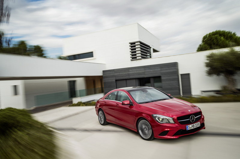2014 - 2015 Mercedes CLA-Class High Resolution Exterior - image 489080