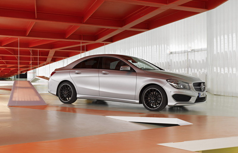 2014 - 2015 Mercedes CLA-Class High Resolution Exterior - image 489100