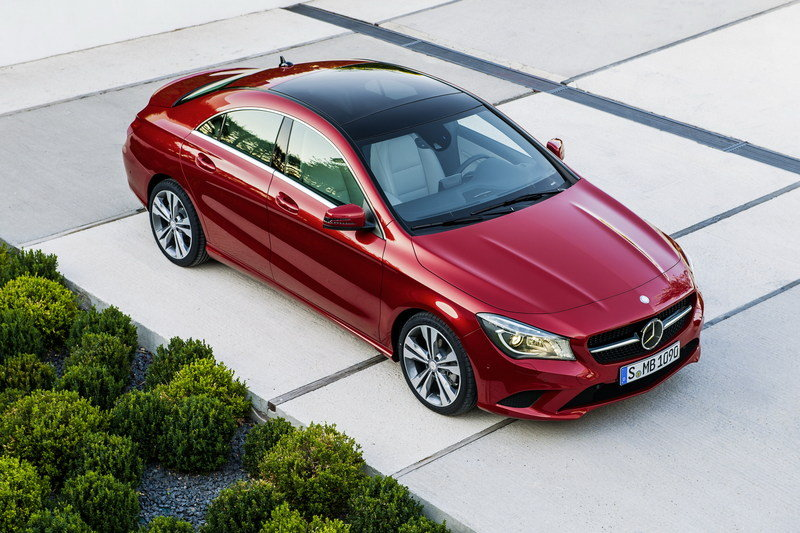 2014 - 2015 Mercedes CLA-Class High Resolution Exterior - image 489082