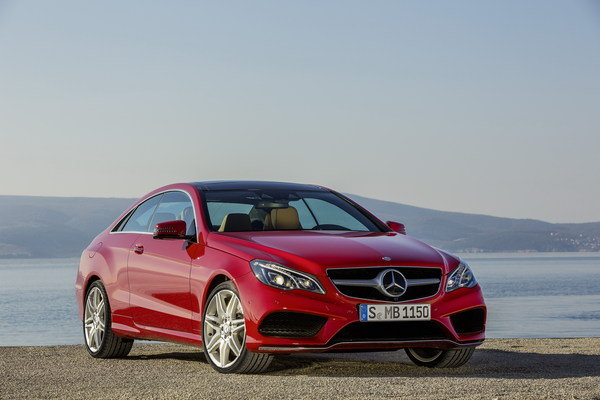 2013 Mercedes EClass Coupe Review  Top Speed