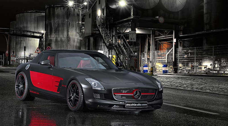 Mcchip-dkr Beefs up the Mercedes SLS AMG With its dkr-MC700 Stage Two Kit