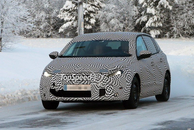 Spy Shots: 2014 Peugeot 308 Caught During Winter Tests