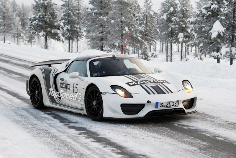 Spy Shots: A Little Porsche 918 Spyder Eye Candy