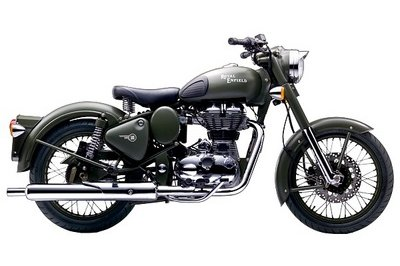 2013 Royal Enfield Classic Battle Green Exterior - image 491286