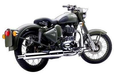 2013 Royal Enfield Classic Battle Green Exterior - image 491287