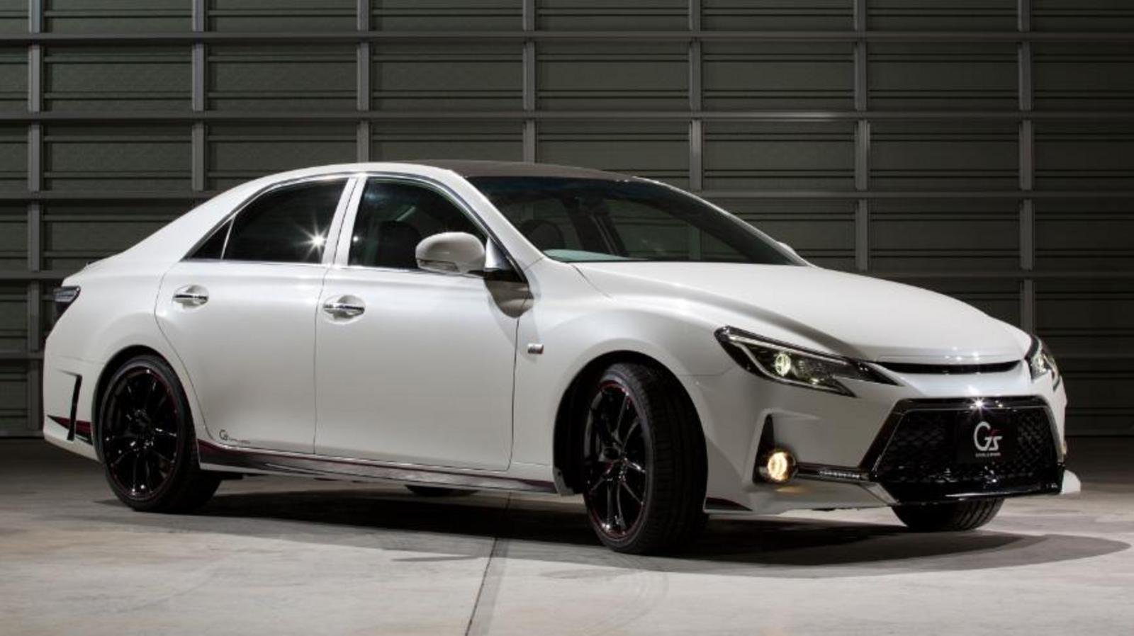 2013 toyota mark x g sports carbon roof concept review
