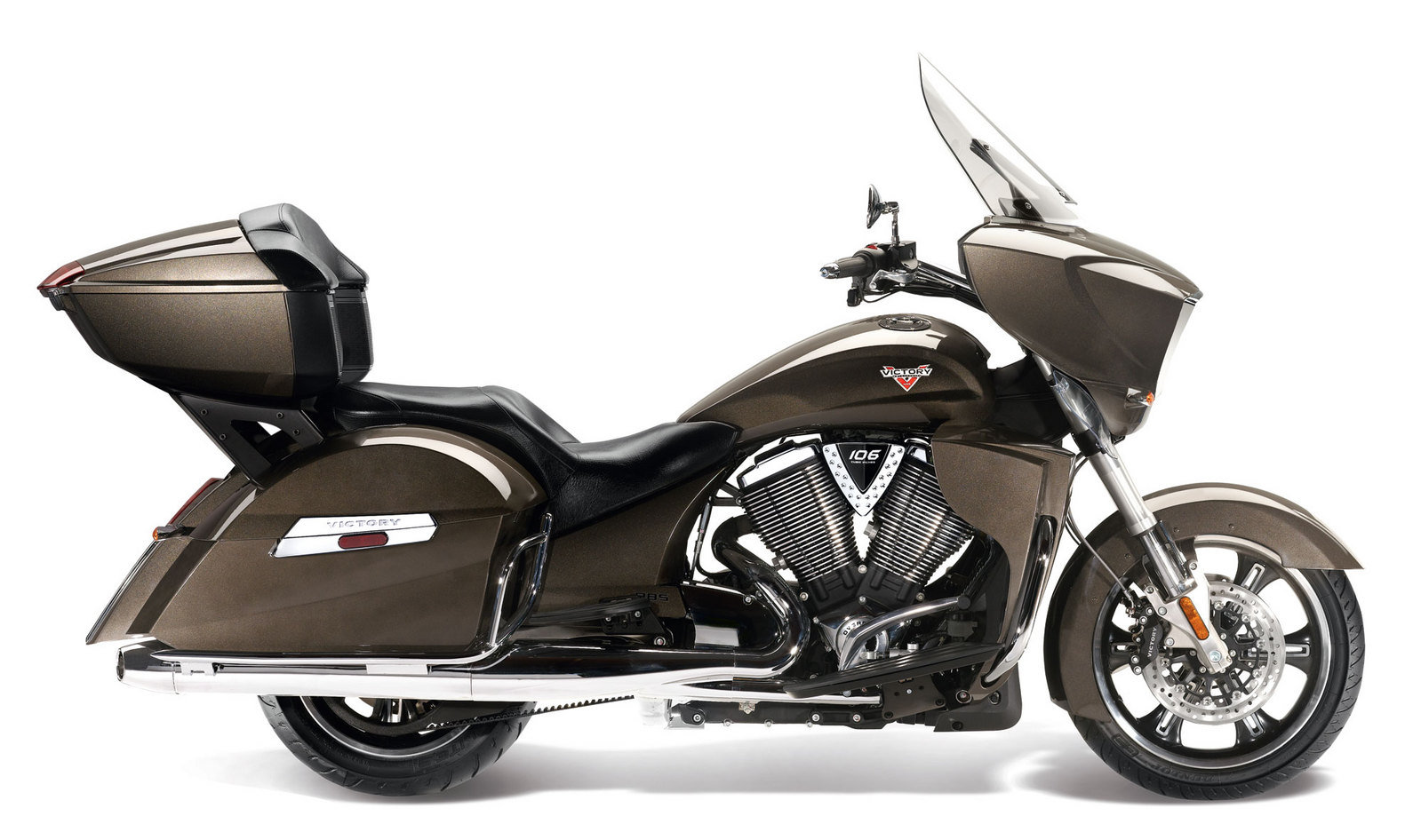 2013 Victory Cross Country Tour Top Speed