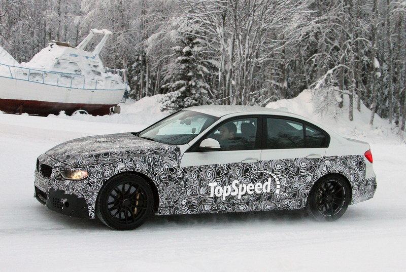 Spy Shots: 2014 BMW M3 Looks Good in White