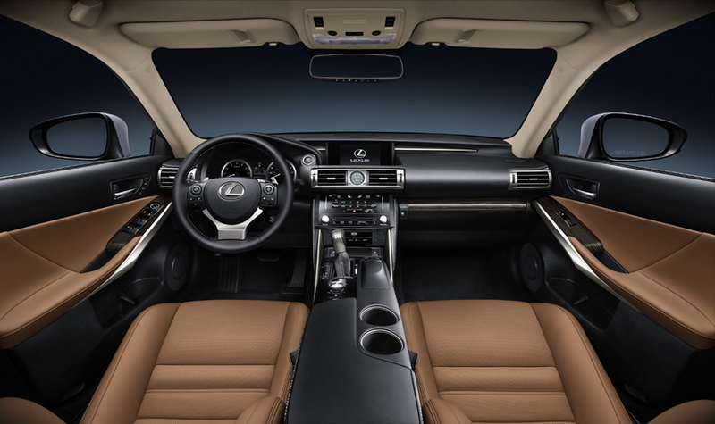 2014 - 2016 Lexus IS High Resolution Interior - image 489684