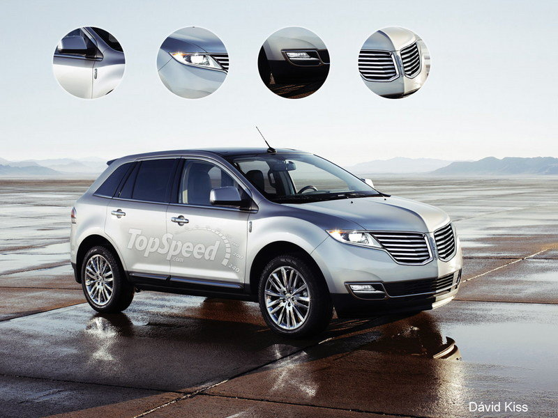 TopSpeed Rendering: 2014 Lincoln MKC