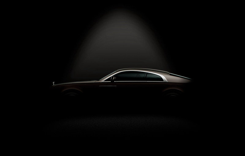 Rolls Royce Wraith: First Official Image and New Spy Shots