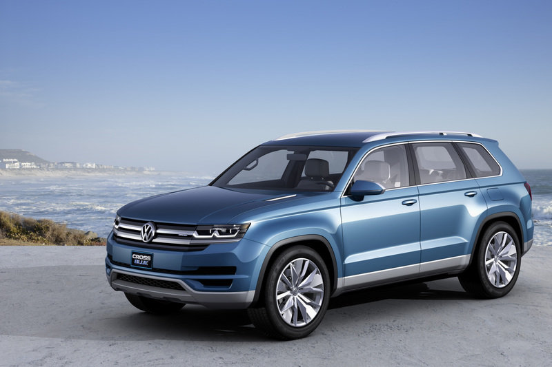 2014 Volkswagen CrossBlue Concept High Resolution Exterior - image 489327