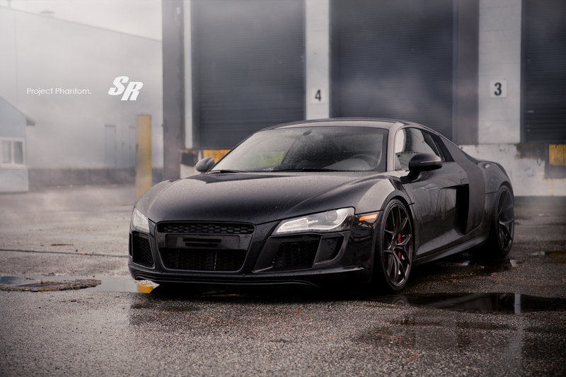 "2013 Audi R8 ""Project Phantom"" by SR Auto Group"