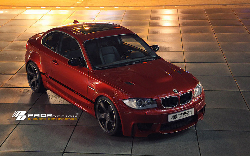 BMW 1-Series Coupe gets 1M look from Prior Design