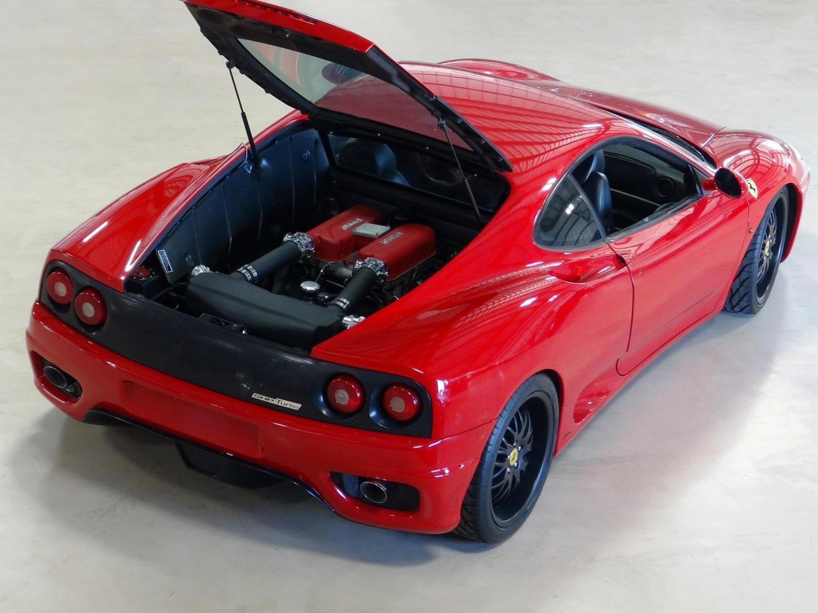 serioushp 39 s turbo kit can nearly double the ferrari 360 modena 39 s horsepower news top speed. Black Bedroom Furniture Sets. Home Design Ideas