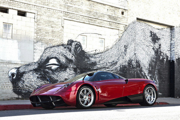first pagani huayra on sale for 2.6 million picture
