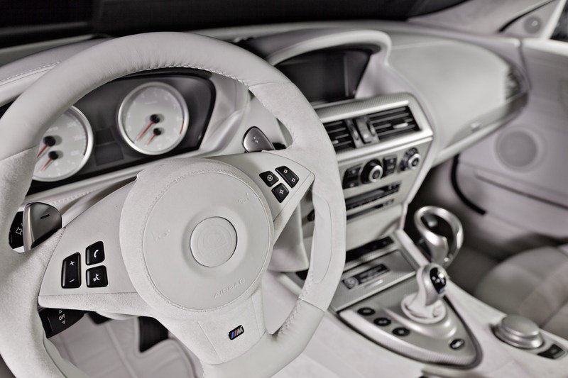 G-Power Offers Individual Interior Design for the BMW M6