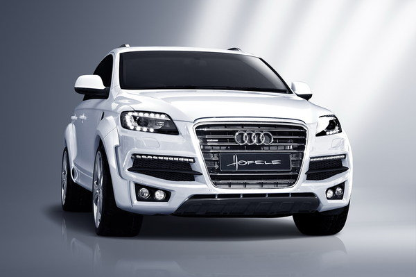 hofele adds extra style to the audi q7 with the strator gt 780 kit picture