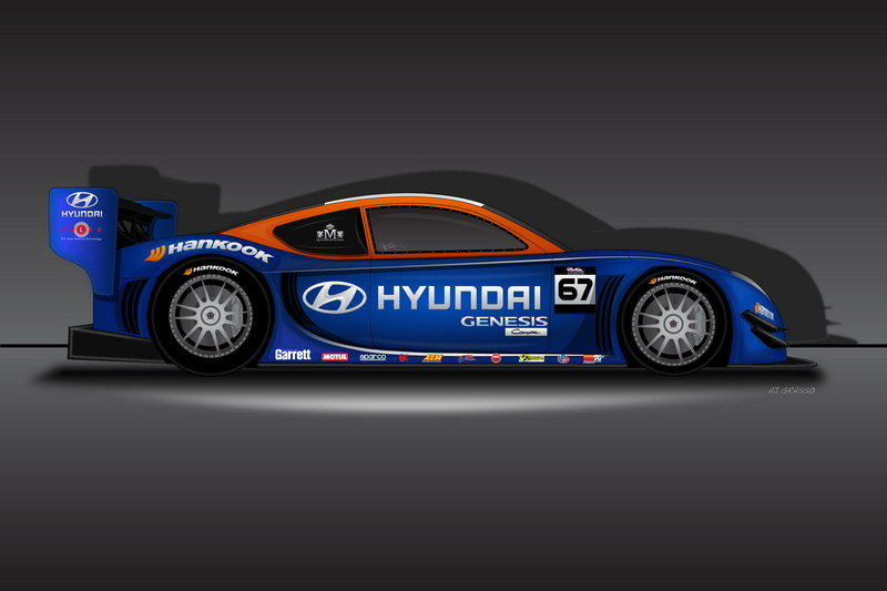2013 Hyundai/RMR Pikes Peak International Hill Climb Unlimited Class Race Car