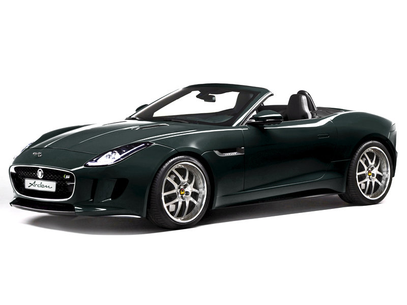 Arden Wastes no Time in Tuning the All-New Jaguar F-Type