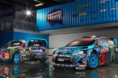 Ken Block's Hoonigan Racing Division Shows Off New HQ and Car Livery