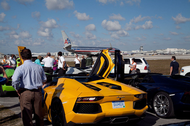 Lamborghini Ramping up 50th Anniversary with Aventador Roadster Launch in Miami